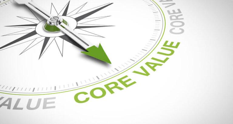 Η δύναμη των αξιών μας